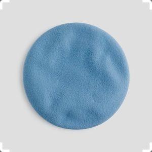 J. Crew Italian wool beret in blue